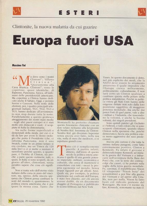 L 39 italia settimanale numero zero marcello veneziani for Numero senatori e deputati in italia