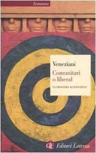 Book Cover: Comunitari o liberal
